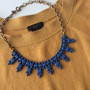 J, Crew Blue Necklace